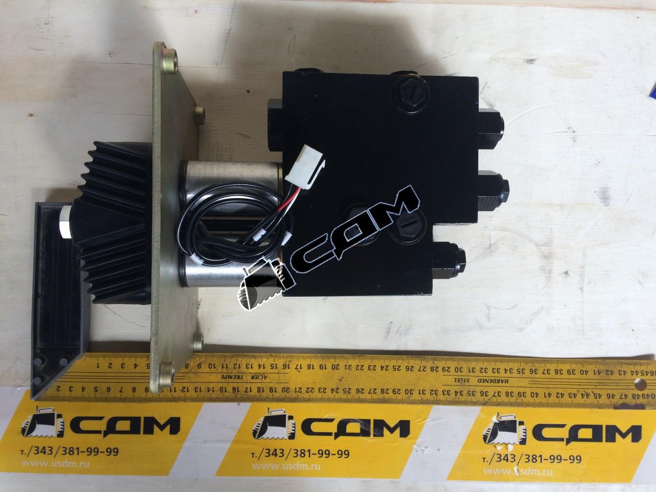 Клапан управления гидравлической системой (джойстик 2 рукоятки) ZL50/CDM (оригинал) DJS2-uх/uu